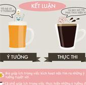 Bia và cafe khác nhau như thế nào?