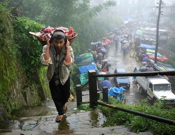 """Cuộc sống kỳ lạ tại nơi """"ẩm ướt nhất thế giới"""""""