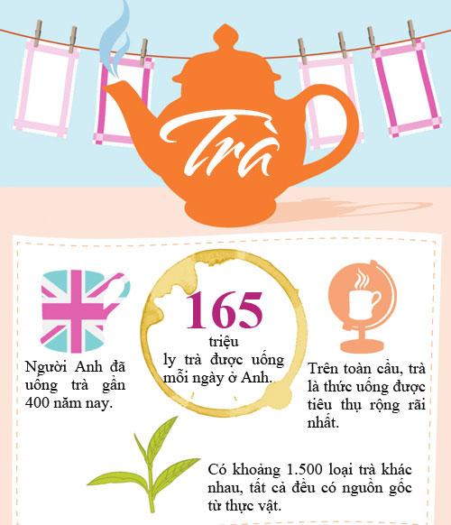 Sự thật thú vị về trà