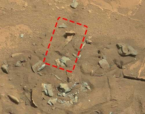 Những hình ảnh kỳ bí trên sao Hỏa