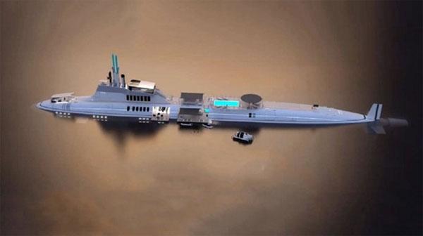 10 tàu ngầm thương mại đắt nhất thế giới