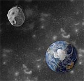 Tiểu hành tinh sắp bay qua trái đất