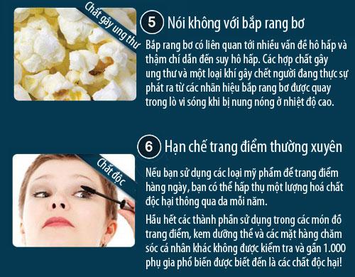 6 nguy cơ trong nhà có thể gây ung thư