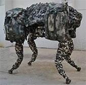Robot chó vận tải phiên bản Trung Quốc