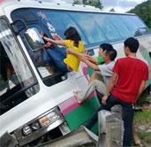 Sức khỏe đời sống-Kỹ năng an toàn để sống sót khi ôtô bị tai nạn giao thông