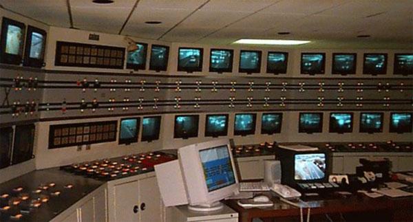 Hình ảnh bên trong trung tâm điều khiển tín hiệu giao thông vào những năm 1970