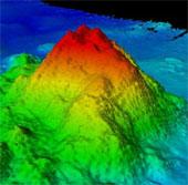 Núi lửa 100 triệu năm tuổi dưới thềm Thái Bình Dương