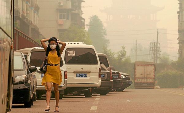 Khí thải gây ô nhiễm tăng cao kỷ lục