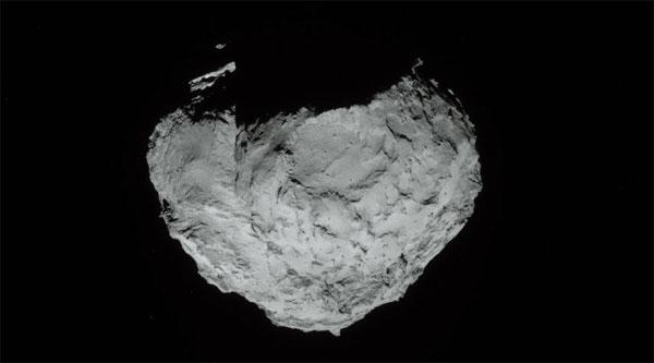 Phát hiện đáng ngạc nhiên về sao chổi của Rosetta