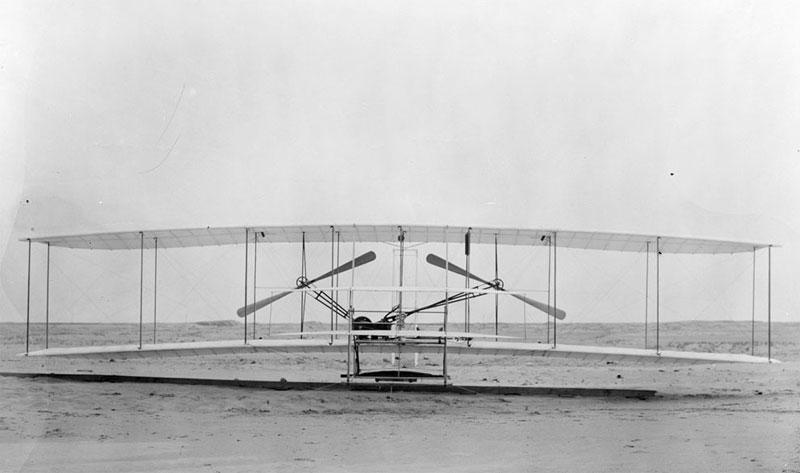 Những chuyến bay đầu tiên của anh em nhà Wright
