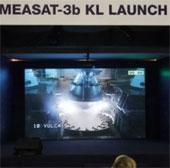 Phóng thành công vệ tinh Measat-3b của Malaysia