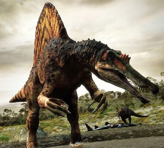 Spinosaurus - Loài khủng long săn mồi cực lớn trên Trái Đất