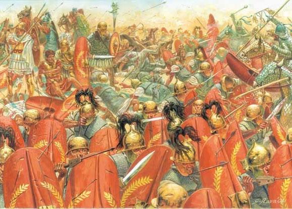 Siêu chiến binh giáp sắt - nỗi kinh hoàng thời La Mã cổ đại