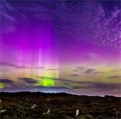 Ngắm ảnh cực quang tuyệt đẹp ở Canada và Scotland