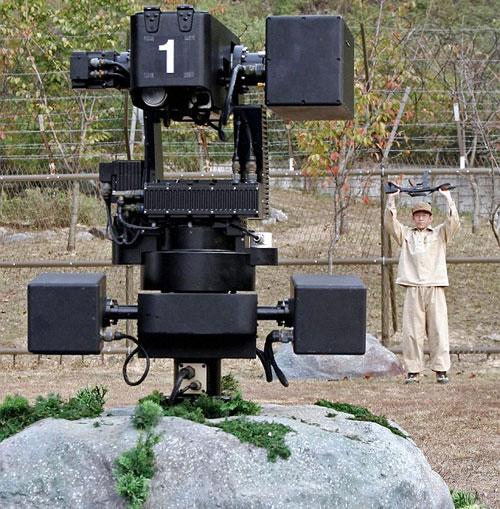 Hàn Quốc triển khai đội robot gác biên giới tối tân