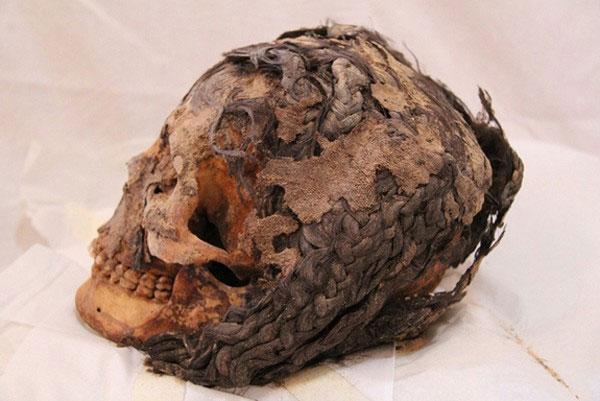 Phát hiện cách tết tóc lạ của người Ai Cập cổ