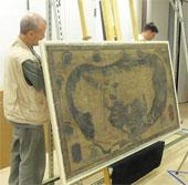 Giải mã tấm bản đồ cổ Martellus Atlas của Columbus
