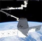 Tàu Dragon đã kết nối thành công với ISS