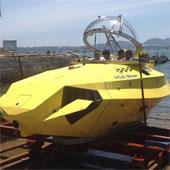 Việt Nam thử nghiệm thành công tàu lặn loại nhỏ
