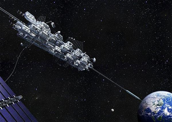 Nhật Bản nghiên cứu chế tạo thang máy vào không gian