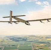 Phi cơ năng lượng mặt trời sắp bay vòng quay thế giới