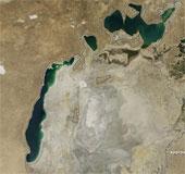 Biển Aral đang dần dần biến mất
