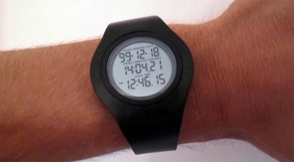 Đồng hồ đếm ngược thời gian sống của con người