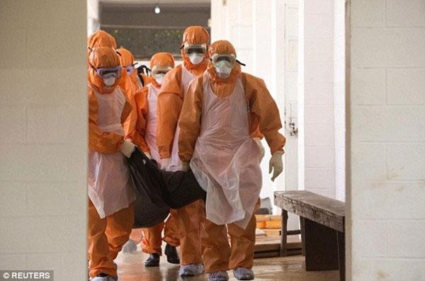 Dịch Ebola ở Mỹ đang ở mức báo động đỏ