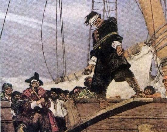 Quan niệm mặc định của con người về cướp biển thời xưa