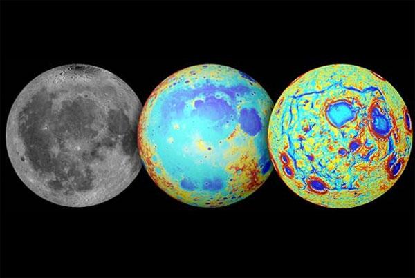 Giả thuyết về sự hình thành mảng đen trên Mặt Trăng
