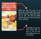 Cách tính khẩu phần ăn hợp lý, tốt nhất cho sức khỏe