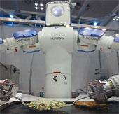 Nhật chú trọng phát triển robot phục vụ người già
