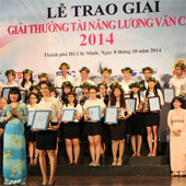 Bông tắm từ xơ mướp giành giải nhất cuộc thi tài năng Lương Văn Can
