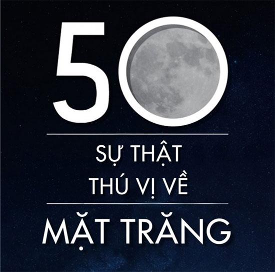 50 sự thật thú vị về mặt trăng