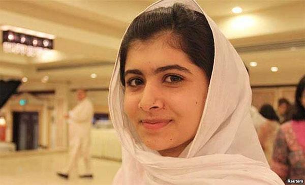 Cô gái 17 tuổi giành giải Nobel Hòa bình 2014