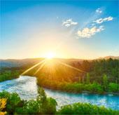 Ô nhiễm không khí làm tăng lưu lượng nước sông