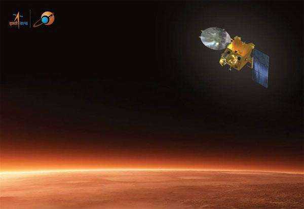 Hình ảnh 3D đầu tiên về sao Hỏa được gửi về từ tàu MOM