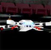 Video: Thiết bị bay 4 động cơ, chụp ảnh từ trên không