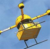 Sử dụng UAV để vận chuyển thuốc men