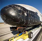 Con tàu bí ẩn x-37b sắp trở về trái đất