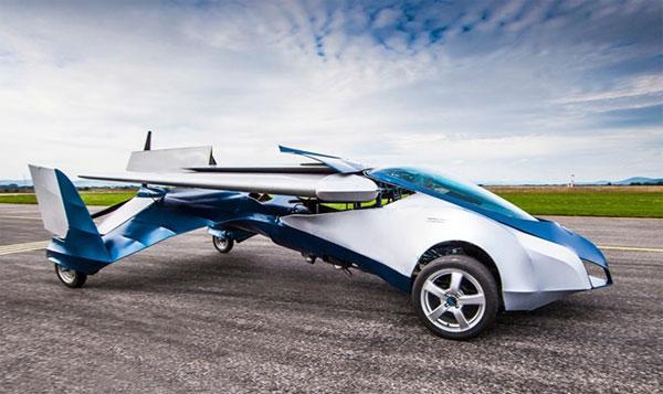 Ý tưởng về ô tô bay đã trở thành hiện thực