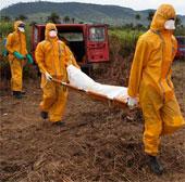 70% người chết vì dịch Ebola ở Tây Phi