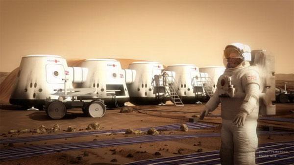 Con người chỉ có thể sống được 68 ngày trên sao Hỏa