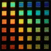 Phát triển màn hình dựa trên khả năng đổi màu của mực