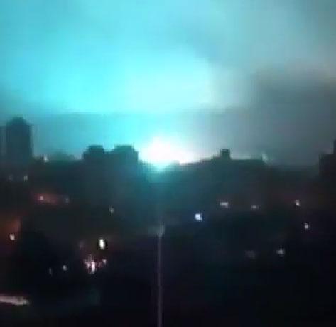 Video: Ánh sáng lạ trên bầu trời Brazil