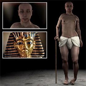 """Chân dung """"khác lạ"""" của Pharaoh Tutankhamun"""