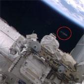 Phát hiện vật thể bay kỳ lạ trên ISS