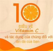 Cùng tìm hiểu về tác dụng của vitamin C