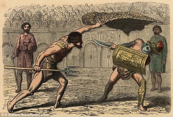 """Phát hiện chế độ ăn """"toàn rau"""" của đấu sĩ La Mã cổ đại"""