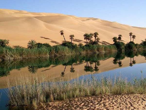 Sa mạc nhiều... nước